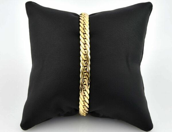 Armband 585/000 14 K Gelbgold 19 cm lang