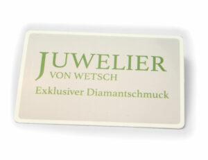 Solitär Brillant Ohrstecker Ohrringe 585 14K Weißgold, 2 Diamanten zus. 0,398 ct