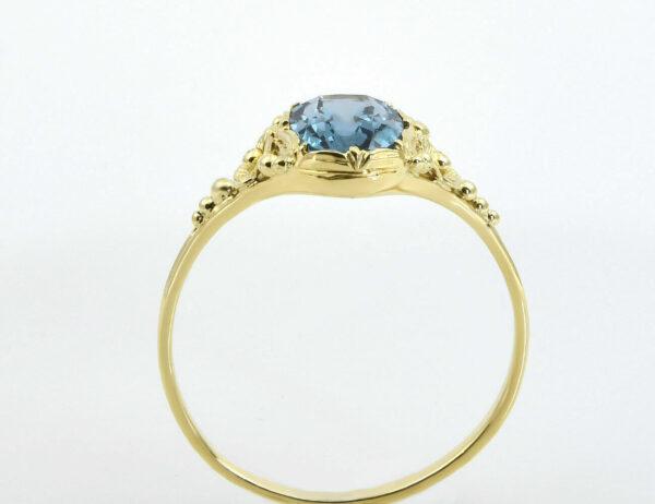Ring Topas 585/000 14 K Gelbgold