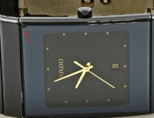 Rado Diastar Ceramics Quartz Herrenuhr mit Box und Papiere Top