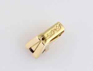 Anhänger Granat 585/000 14 K Gelbgold