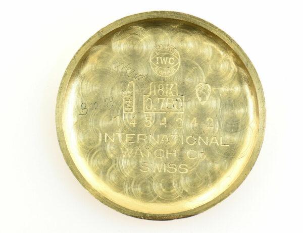 IWC Schaffhausen 750/000 18 K Gelbgold Damenuhr