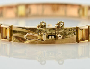 Lapponia Armband Citrin 585/000 14 K Gelbgold, 18 cm lang