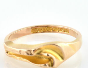 Lapponia Ring 585/000 14 K Gelbgold