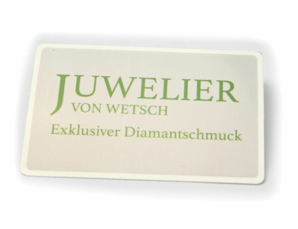 Solitär Brillant Ohrstecker Ohrringe 585 14K Weißgold, 2 Diamanten zus. 0,193 ct