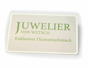 Solitär Diamantring 585/000 14 K Gelbgold Brillant 0,10 ct