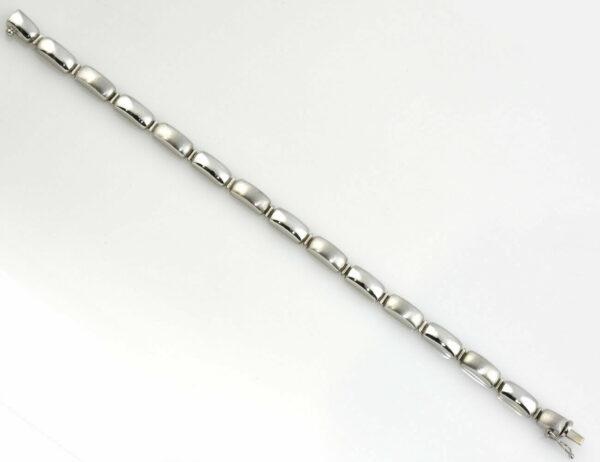Armband 585/000 14 K Weißgold 20 cm lang