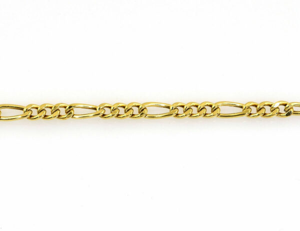 Figarokette 333/000 8 K Gelbgold, 50 cm lang