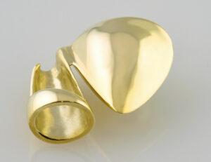 Anhänger Akoyaperle 585/000 14 K Gelbgold
