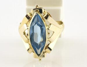 Ring Topas 585 14 K Gelbgold