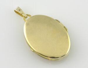 Anhänger Medaillon 333/000 8 K Gelbgold