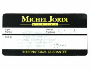 Michel Jordi Sondermodell Ethno World Gold 750 Herrenuhr