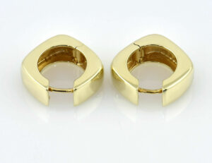 Scharniercreolen 333/000 8 K Gelbgold Ohrring