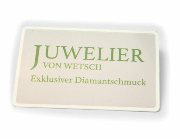 Solitär Brillant Ohrstecker Ohrringe 585 14 K Weißgold, 2 Diamanten zus. 0,16 ct