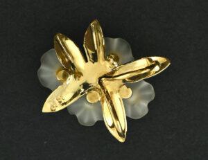 Anhänger 585 14 K Gelbgold Bergkristall und Zirkonia