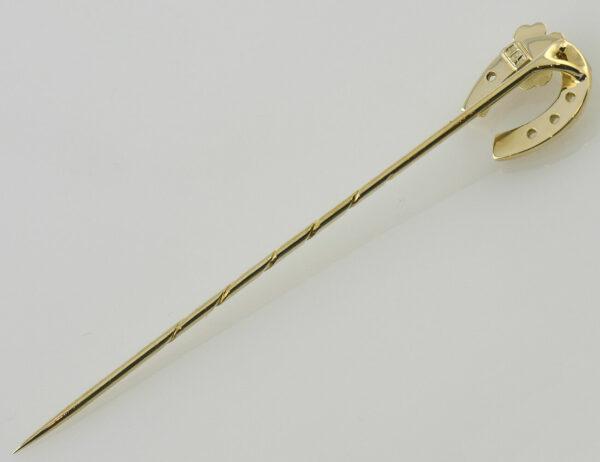 Anstecknadel 585/000 14 K Gelbgold Zuchtperle