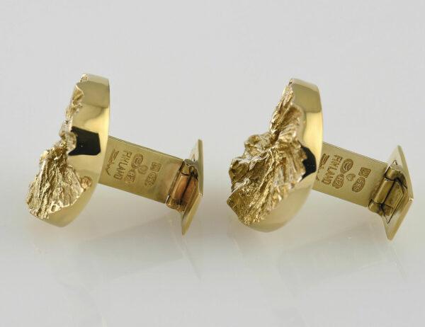 Lapponia Manschettenknöpfe 585 14 K Gelbgold
