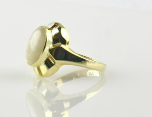 Ring Opal 585/000 14 K Gelbgold