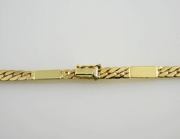 Kette 44 cm lang 585/000 14 K Gelbgold