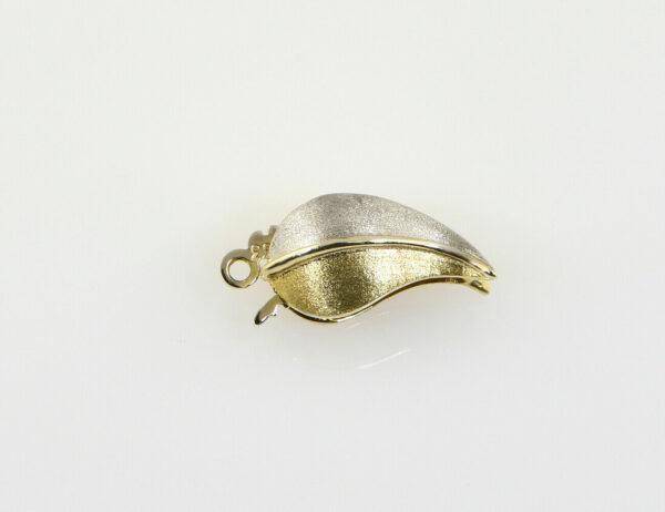 Perlenkettenschloß 333/000 8 K Gelbgold