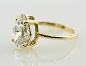 Ring 585 14 K Gelbgold Zirkonia