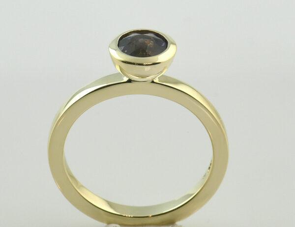 Ring Amethyst 585 14 K Gelbgold