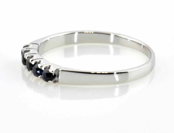 Saphir Ring 585/000 14 K Weißgold